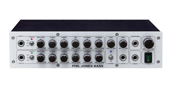 Phil Jones Bass フィル・ジョーンズ・ベース BASS D-600 【アンプ】【ベース用】【ヘッド】【送料無料】