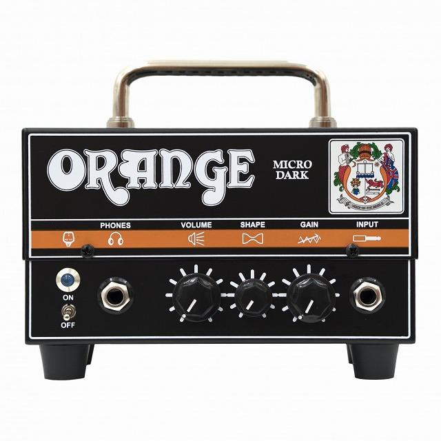 Orange オレンジ MICRO DARK 【マイクロダーク】【20ワット】【真空管・チューブ】【ギター用】【アンプヘッド】【送料無料】