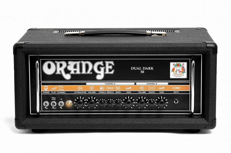 Orange オレンジ Dual Dark Series Dual Dark 50 [Dual Dark 50] 【デュアルダーク】【50ワット】【真空管・チューブ】【ギター用】【ハイゲイン】【アンプヘッド】【送料無料】