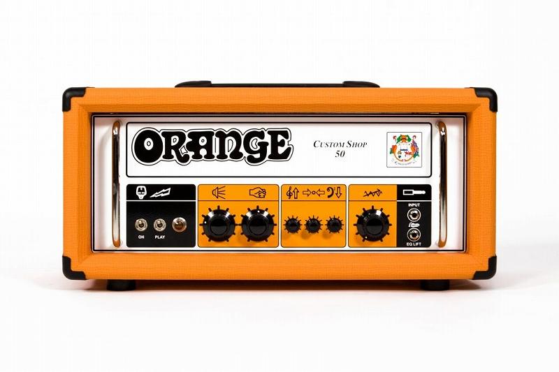 Orange オレンジ Custom Shop Series Custom Shop 50 [Custom Shop 50] 【カスタムショップ】【ハンドワイヤリング】【50ワット】【真空管・チューブ】【ギター用】【アンプヘッド】【送料無料】