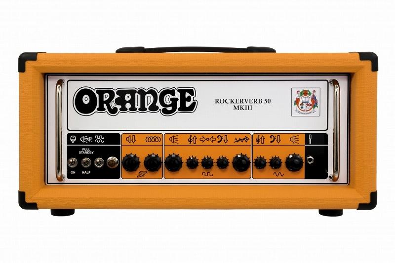Orange オレンジ Rockerverb 50 MK III Head 【ロッカーバーブ】【50/25ワット】【真空管・チューブ】【ギター用】【アンプヘッド】【送料無料】