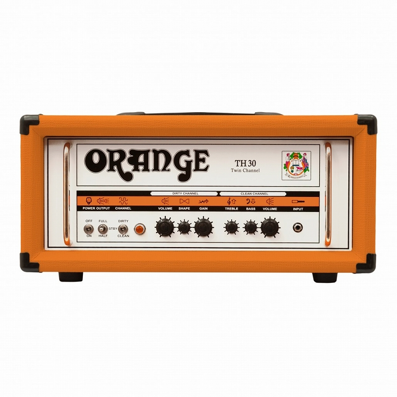 Orange オレンジ TH Series TH30H [TH30H] 【30/15/7ワット】【真空管・チューブ】【ギター用】【アンプヘッド】【送料無料】