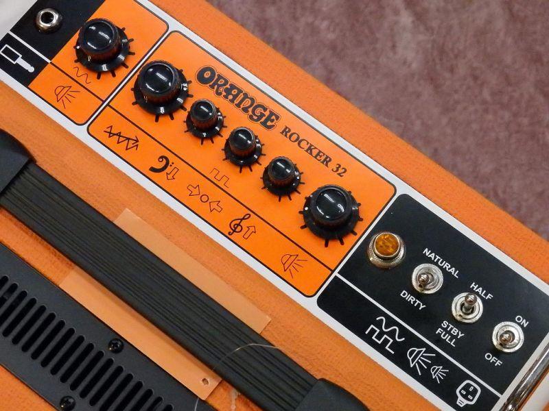 【1台限定!箱ボロアウトレット特価】Orange オレンジ Rocker 32 【ロッカー】【30W】【真空管・チューブ】【ギターアンプ】【コンボアンプ】【送料無料】
