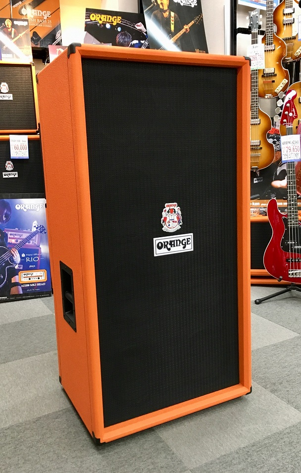 Orange オレンジ Bass Guitar Speaker Cabinets OBC810 [OBC810] 【スピーカーキャビネット】【ベースアンプ用】【送料無料】【店頭展示品】