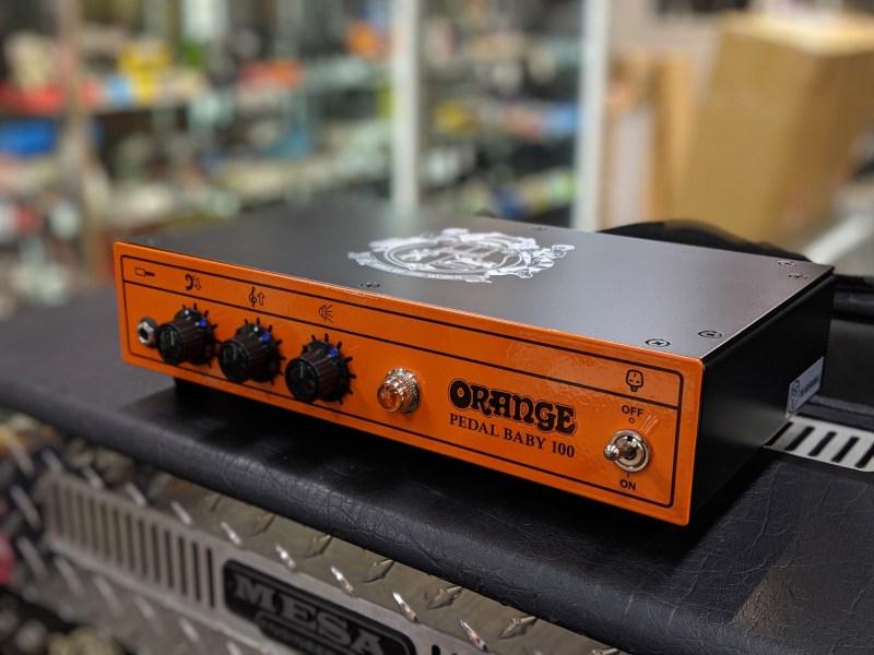 ORANGE Pedal Baby 100【オレンジ】【ペダルベイビー100】【パワーアンプ】【100W】【70W】