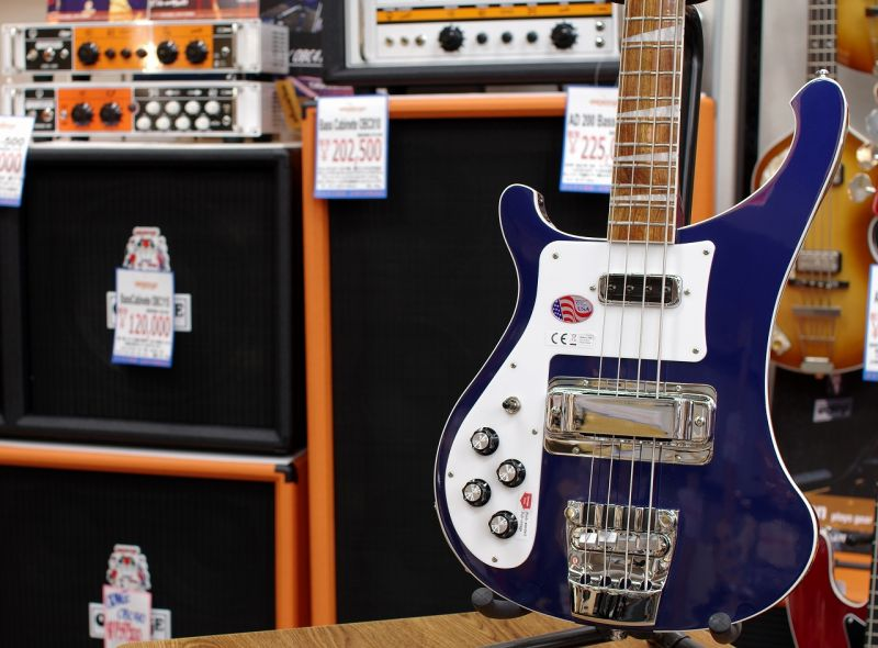Rickenbacker 4003 Midnight Blue LH (S/N,17-30785)【リッケンバッカー】【ミッドナイトブルー】【レフティー・左利き用】【送料無料】【旧定価商品】