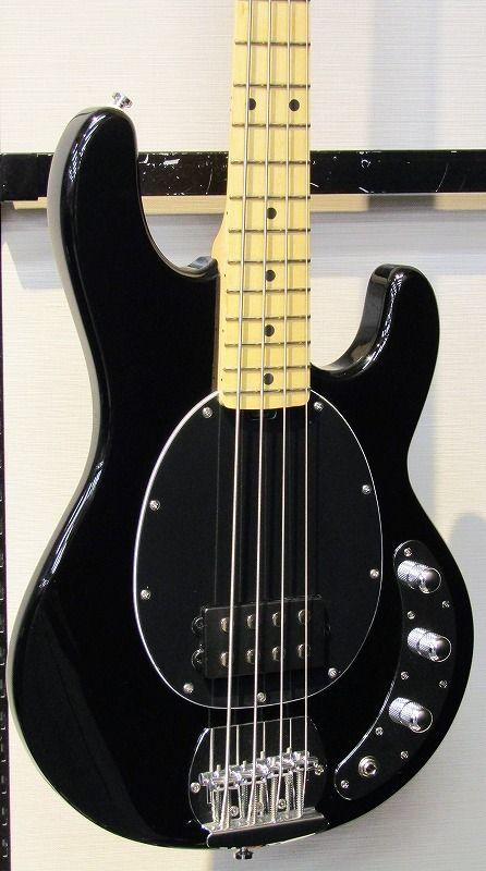 Sterling スターリン S.U.B Ray4 Black/Maple【4弦】【ベース】【スティングレイ】【入門者向け】【送料無料】