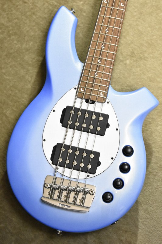 MUSIC MAN BONGO 5 HH Sky Blue/Rosewood 【S/N,F76294】【ミュージックマン】【ボンゴ】【5弦】