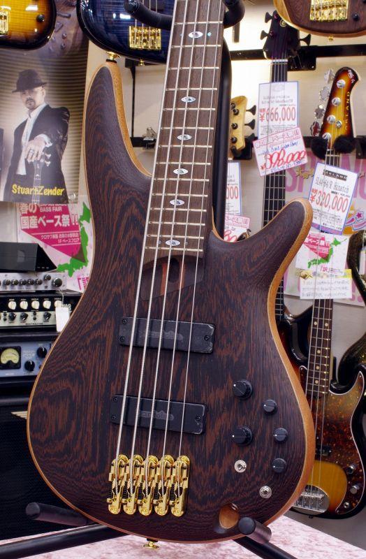 Ibanez アイバニーズ Prestige SR5005-OL 【国産・日本製】【5弦ベース】【アクティブ】【送料無料】