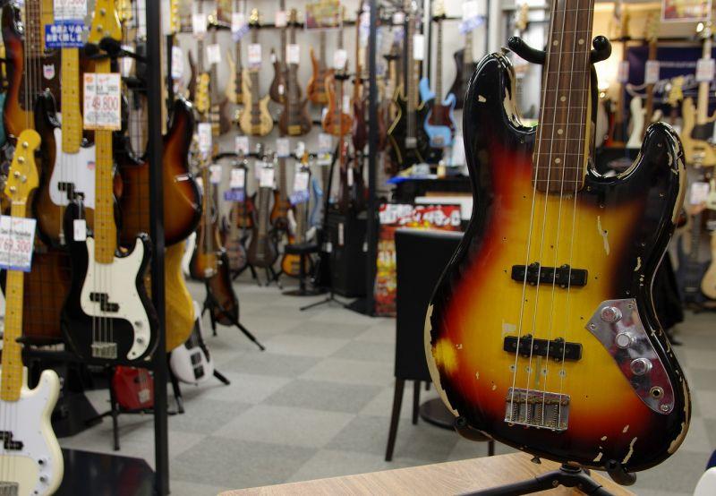 Fender USA CUSTOM SHOP JACO PASTORIUS TRIBUTE JAZZ BASS 【フェンダー】【カスタムショップ】【ジャズベース】【ジャコ・パストリアス】【フレットレス】【送料無料】