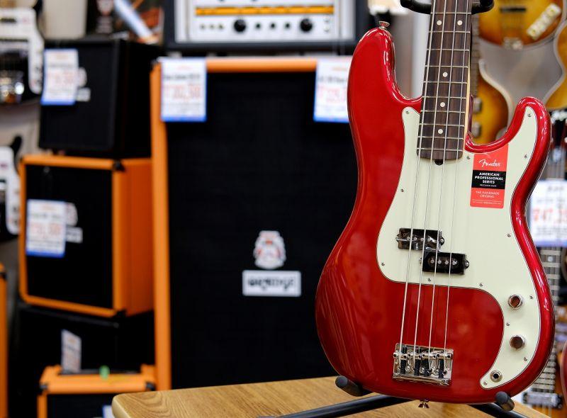 Fender USA American Professional Precision Bass® CAR/R (S/N,17060777)【フェンダー】【プレシジョンベース】【アメリカン・プロフェッショナル】【送料無料】
