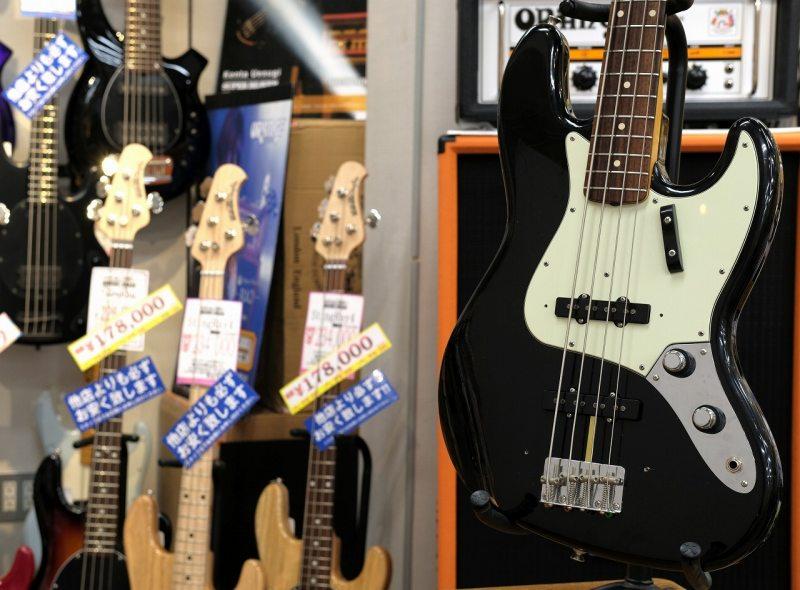 Fender Custom Shop 1961 Jazz Bass ClosetClassic Black/RoseWood 【2012USED】【中古・USED】【フェンダー】【カスタムショップ】【ジャズベース】【クローゼットクラシック】
