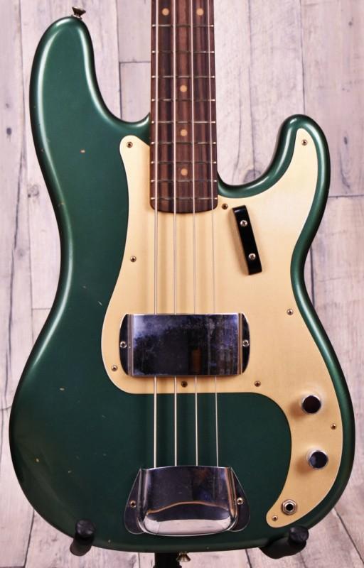 Fender Custom Shop 2018 LImited 1959 Precision Bass Journeyman Relic - Aged Sherwood Green Metallic-【フェンダー】【カスタムショップ】【ジャーニーマンレリック】【プレシジョンベース】【エイジドシャーウッドグリーンメタリック】