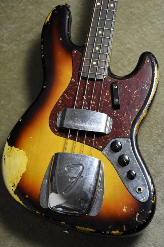 Fender Custom Shop 1964 Jazz Bass Heavy Relic 3CSB 【S/N、R92029】【フェンダー】【カスタムショップ】【ジャズベース】【ヘヴィレリック】
