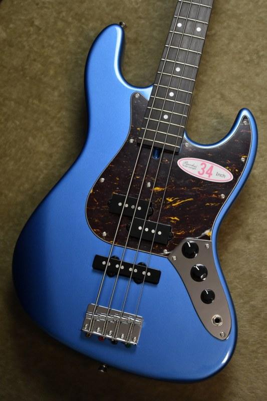Bacchus WL-434 PJ Lake Placid Blue MH【初心者人気モデル】【PJタイプ】【バッカス】【プレジャズ】【レイクプラシッドブルー】【青】