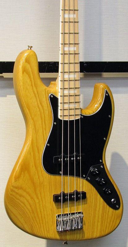 J.W.Black Guitars JWB-JP-JB 70's VNT/M 【S/N,170110】【J,ブラック】【ジャズベース】【日本製】【送料無料】
