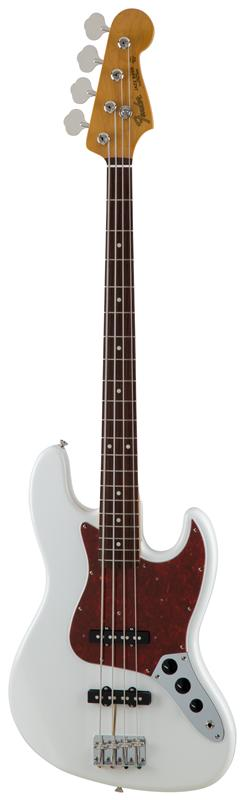 Fender フェンダー MADE IN JAPAN TRADITIONAL 60S JAZZ BASS® Rosewood Fingerboard, Arctic White 【国産・日本製】【ジャズベース】【送料無料】