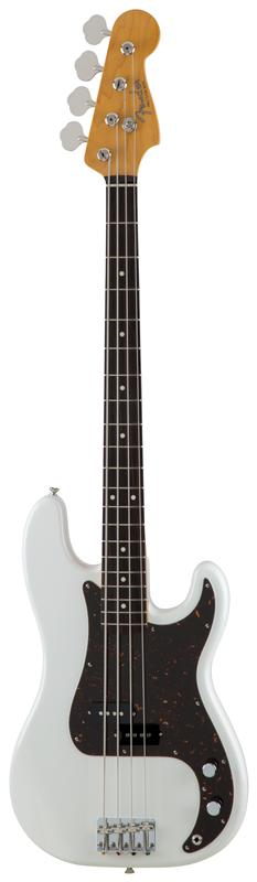 Fender フェンダー MADE IN JAPAN TRADITIONAL 60S PRECISION BASS® Rosewood Fingerboard, Arctic White 【国産・日本製】【プレシジョンベース】【送料無料】