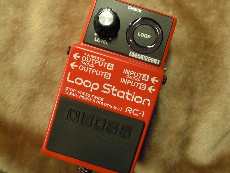 BOSSRC-1 Loop Station 【ルーパー】【送料無料】
