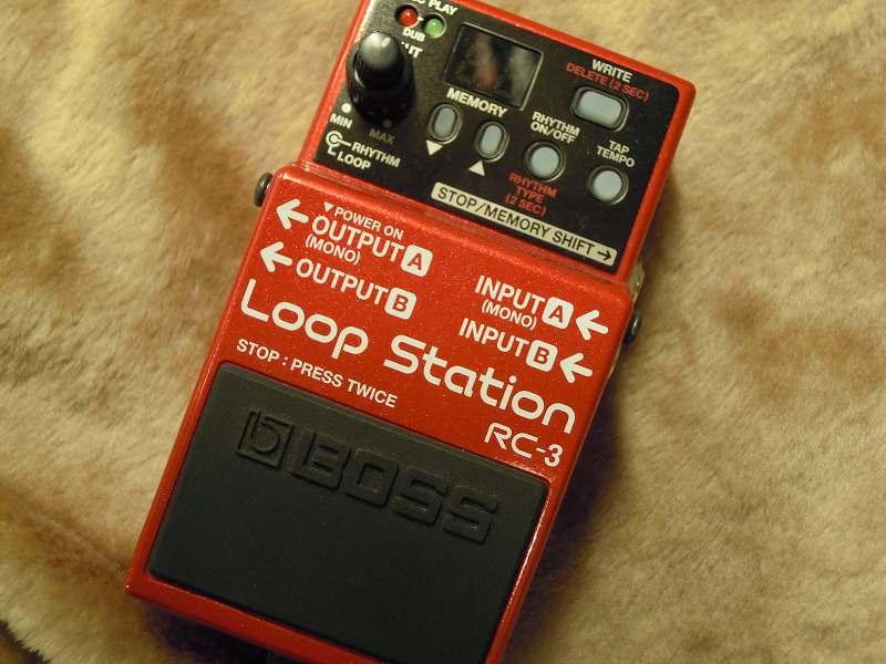競売 BOSSRC-3 Loop Station【新品】 BOSSRC-3【ボス】 Loop【ルーパー】【送料無料】, トシマムラ:8121af48 --- canoncity.azurewebsites.net