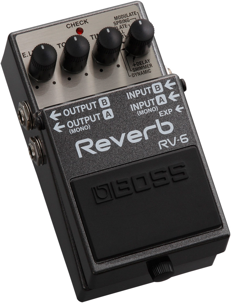 Reverb【新品】【ボス】【リバーブ】【送料無料】 BOSSRV-6