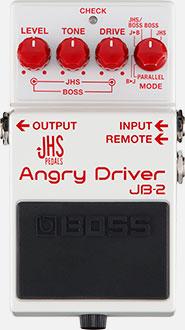 BOSSJB-2 Angry Driver【ボス】【アングリードライバー】【JHS】【アングリーチャーリー】【BD-2】【ブルースドライバー】【送料無料】