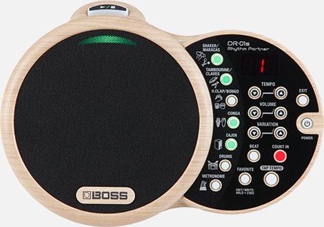 BOSS DR-01S Rhythm Partner 【ボス】【リズムパートナー】【リズムマシン】【送料無料】