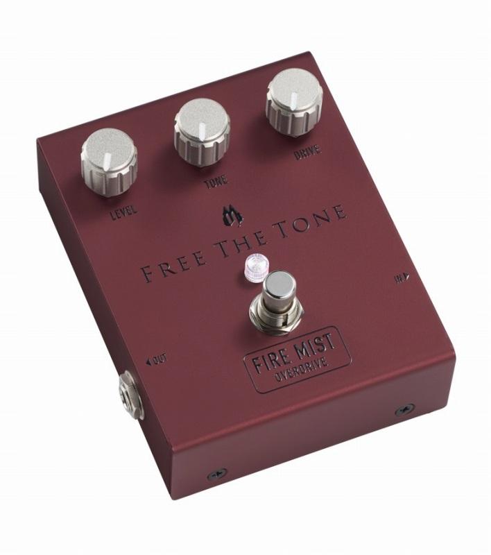 Free The ToneFM-1V FIRE MIST【フリーザトーン】【オーバードライブ】【ファイアーミスト】【送料無料】