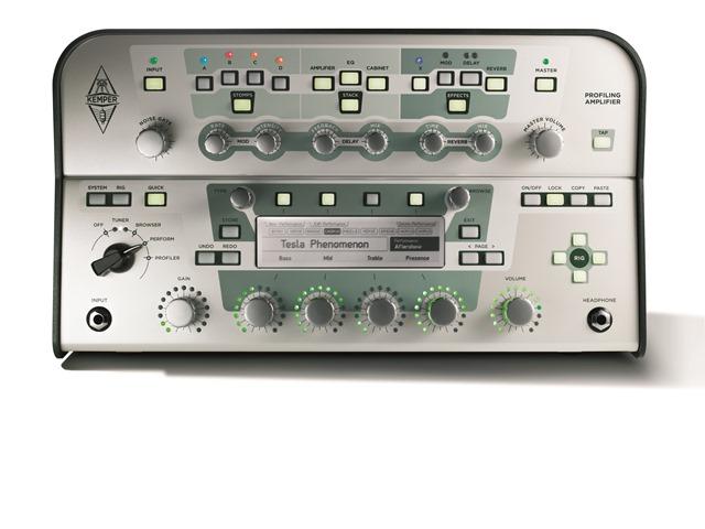 KEMPER PROFILER AMP HEAD White panel 【Profiling Amplifier】【ケンパー プロファイラー アンプ ヘッド ホワイトパネル】 【送料無料】
