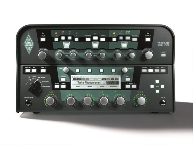 KEMPER PROFILER AMP POWERHEAD【ケンパー プロファイラー アンプ パワーヘッド】【600Wパワーアンプ内蔵】【送料無料】