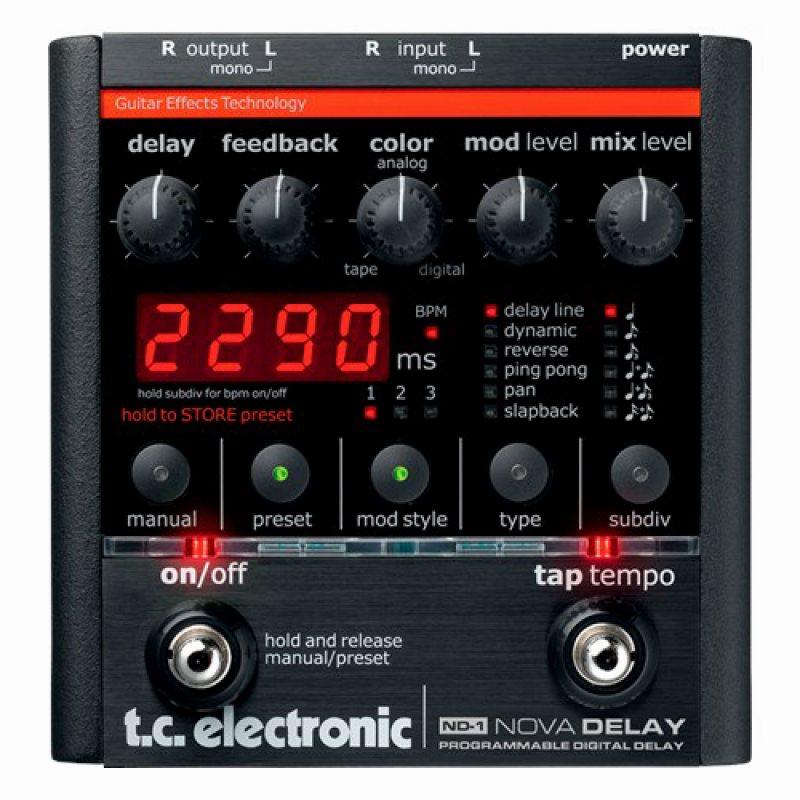 TC electronic ND-1 NOVA DELAY【ノヴァディレイ】【デジタル・ディレイ】【送料無料】