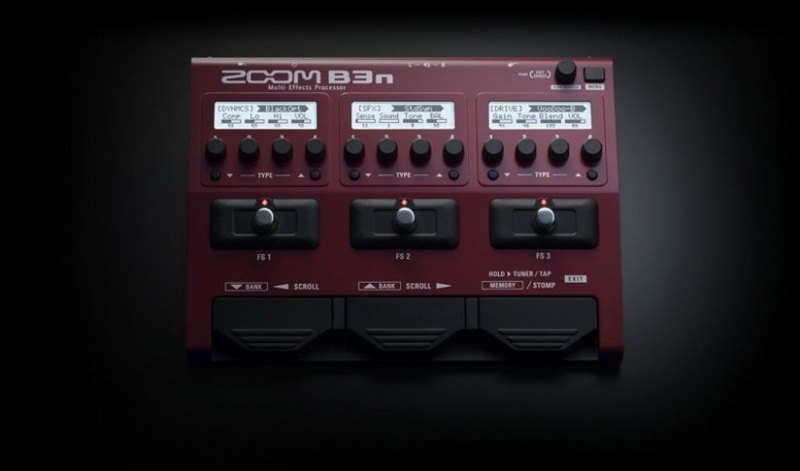 ZOOMB3n【ズーム】【ベース用】【マルチエフェクター】【送料無料】