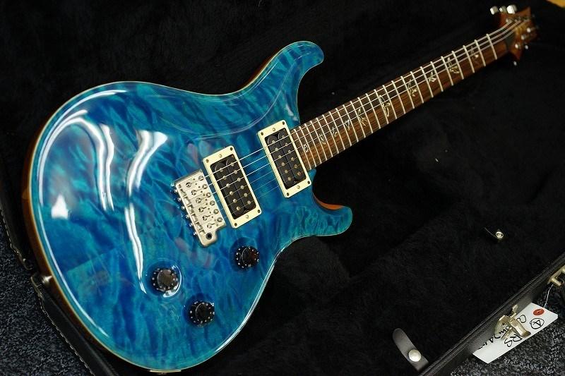 Paul Reed Smith Custom24 Blue Matteo 【USED/2008年製/中古】【HFS&Vintage PU】【キルトトップ】【PRS・ポールリードスミス】【カスタム24】【送料無料】