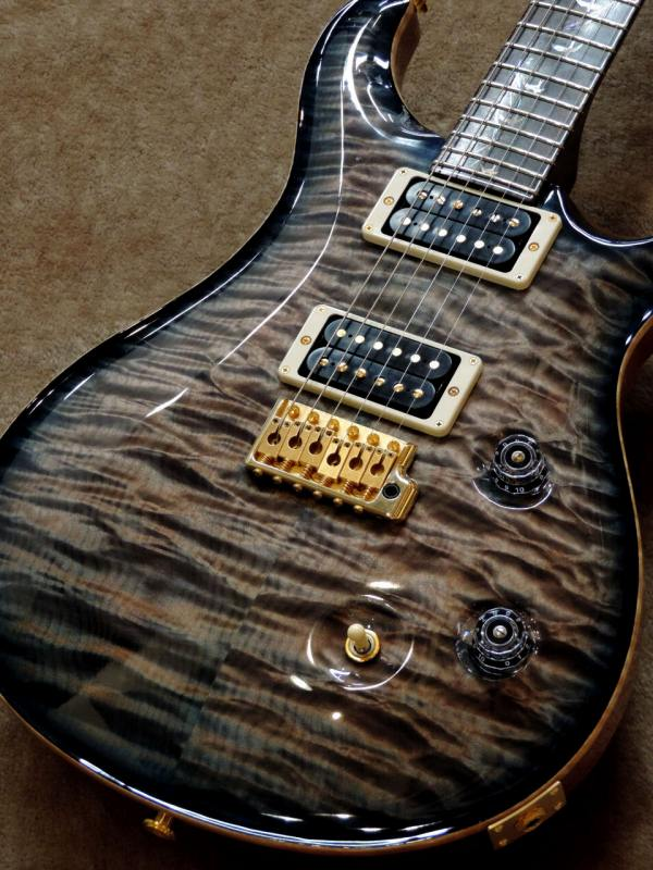 Paul Reed Smith Goladen Eagle Limited Private Stock Brazilian #5766 Custom 24 ~Turquoise Smoked Burst~【PRS】【ポールリードスミス】【ゴールデンイーグル】【カスタム24】【プライベートストック】