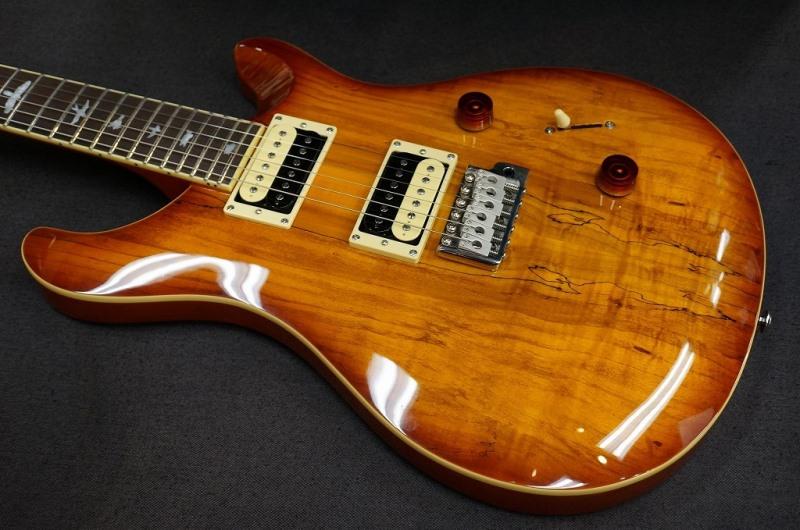 Paul Reed Smith SE Custom 24 Spalted Maple Vintage Sunburst s/n R06374【PRS ポール・リード・スミス】【SEカスタム】【送料無料】