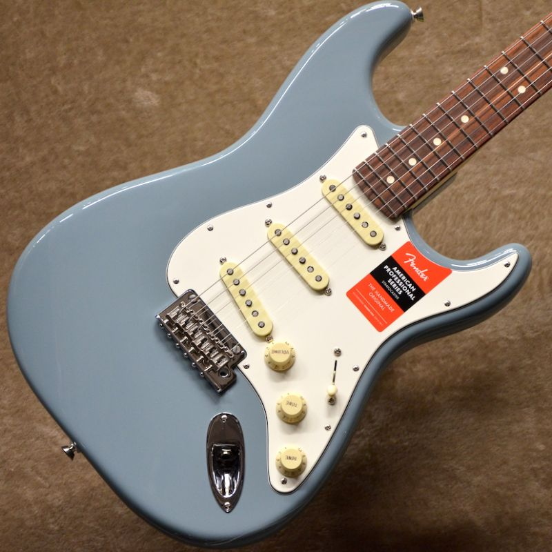 Fender USA American Professional Stratocaster ~Sonic Gray / Rosewood Fingerboard~ #US17061640【3.44kg】【フェンダー】【アメリカン・プロフェッショナル】【ストラトキャスター】【送料無料】