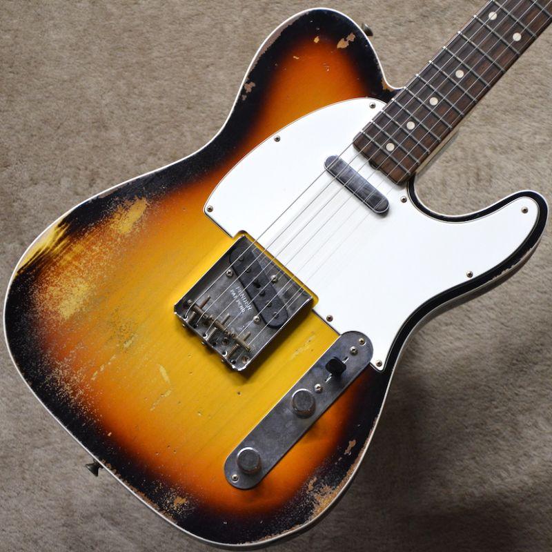 Fender USA Custom Shop Master Built 60 Telecaster Custom Relic Built by Dennis Galuszka ~3-Color Sunburst~ #R90869 【3.35kg】【フェンダー】【カスタムショップ】【マスタービルト テレキャスター/レリック】【デニス・ガルスカ製作】【送料無料】