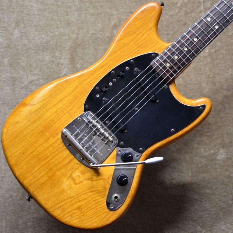 Fender USA Mustang ~Natural~ (1977年製)【中古・USED】【ヴィンテージ】【フェンダー】【ムスタング】【送料無料】