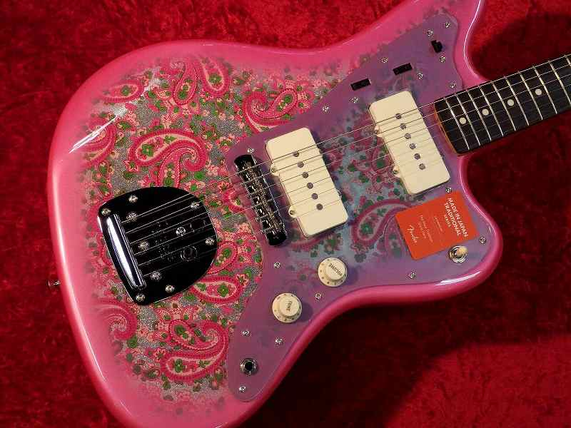 Fender フェンダー MADE IN JAPAN TRADITIONAL 60S JAZZMASTER Pink Paisley【国産・日本製】【ジャズマスター】【ピンク・ペイズリー】【送料無料】