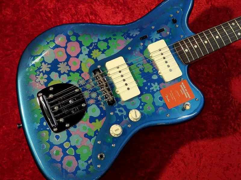 Fender フェンダー MADE IN JAPAN TRADITIONAL 60S JAZZMASTER Blue Flower【国産・日本製】【ジャズマスター】【ブルーフラワー】【送料無料】
