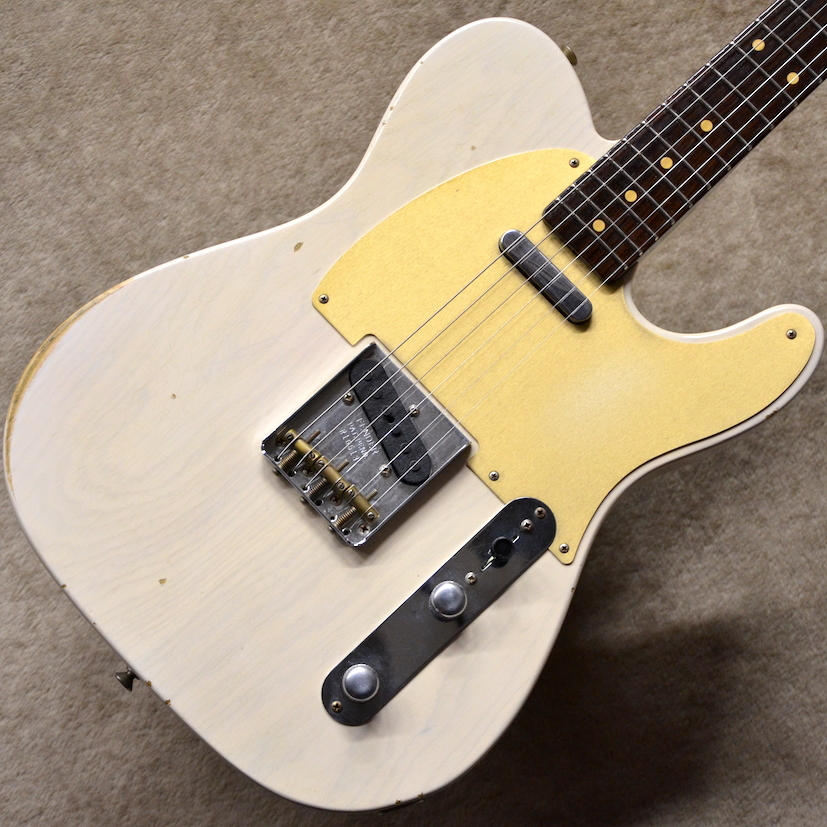 Fender Custom ShopNamm Limited 50s Telecaster Rosewood Neck Journeyman Relic ~Aged White Blonde~ #R16513 【3.23kg】【フェンダー】【ローズネック】【テレキャスター】【送料無料】