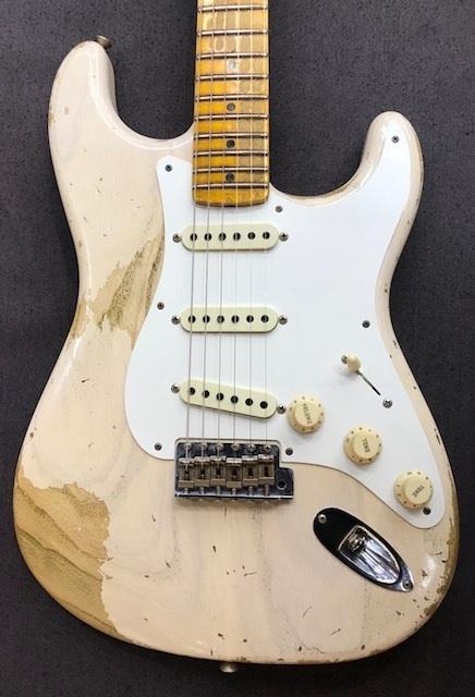 Fender USA 1958 Stratocaster Heavy Relic ~AGED WHITE BLONDE~ CZ533372~【3.41kg】【現地選定品】【フェンダー】【ストラトキャスター】【カスタムショップ】【ヘヴィレリック】【送料無料】