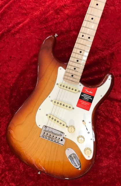 Fender American Professional Stratocaster ~Sienna Sunburst / Maple Fingerboard~ #US17084017 【3.56kg】【フェンダー】【アメリカン・プロフェッショナル】【ストラトキャスター】