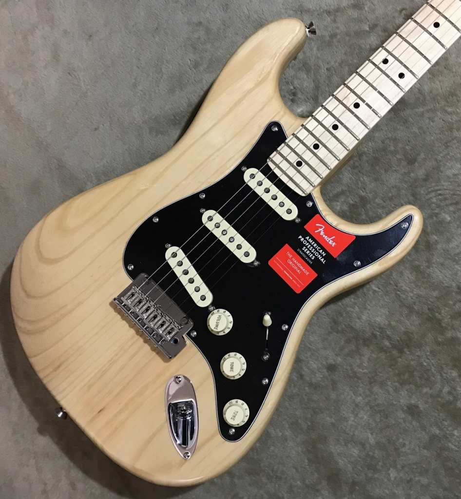 Fender American Professional Stratocaster ~Natural / Maple Fingerboard~ #US17103347 【3.76kg】【フェンダー】【アメリカンプロフェッショナル】【ストラトキャスター】【アッシュ】【ナチュラル】【送料無料】
