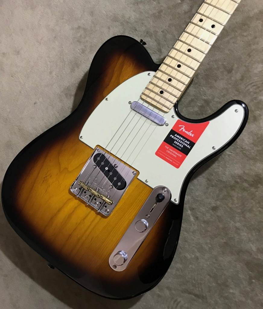 Fender American Professional Telecaster ~2-Color Sunburst / Maple Fingerboard~ #US17072471 【3.62kg】【フェンダー】【アメリカンプロフェッショナル】【テレキャスター】