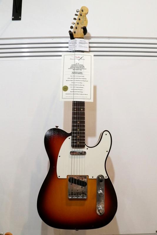 Fender Custom Shop Vintage Custom 1959 Telecaster J.Relic Chocolate 3 Tone Sunburst CZ534946【2018年6月商談会選定品】【フェンダー】【カスタムショップ】【ヴィンテージカスタム】【テレキャスター】【ジャーニーマンレリック】