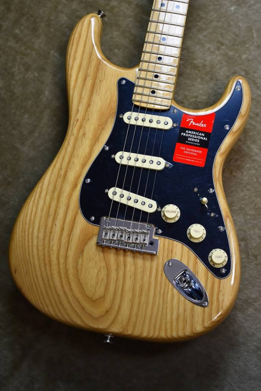 Fender American Professional Stratocaster ~Natural / Maple Fingerboard~ #US17066108【フェンダー】【アメリカンプロフェッショナル】【ストラトキャスター】