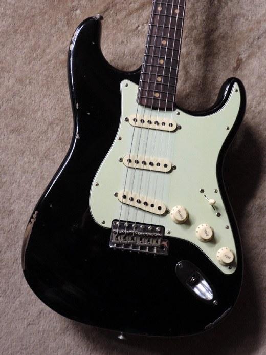 Fender Custom Shop Time Machine Series 1960 Stratocaster Relic Aged Black CZ532112 2018年製【本柾目ネック】【フェンダー】【カスタムショップ】【タイムマシーン】【ストラトキャスター】【レリック】【エイジドブラック】