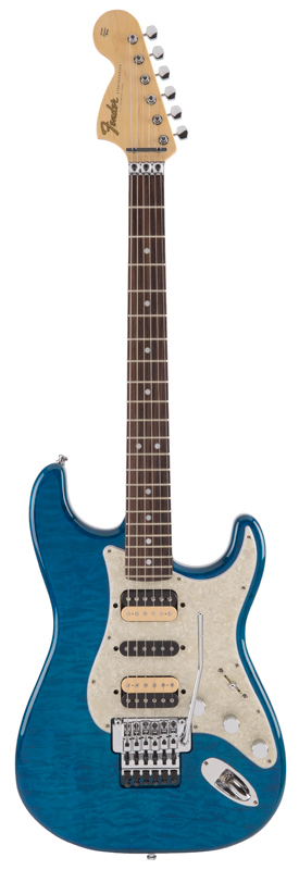 Fender Michiya Haruhata Stratocaster Rosewood Fingerboard, Caribbean Blue Trans【ご予約受付中】【11~12月入荷予定】【フェンダー】【春畑道哉氏モデル】【TUBE】
