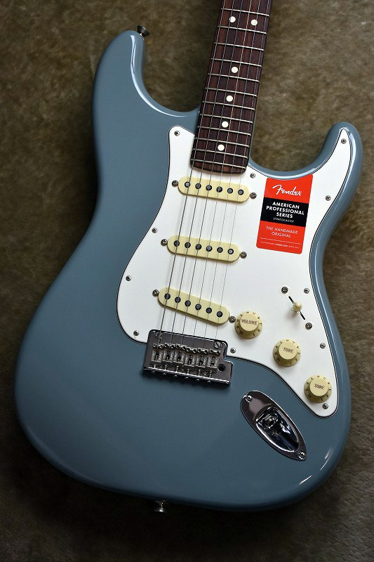 Fender American Professional Stratocaster ~Sonic Gray / Rosewood Fingerboard~ #US17061640【3.44kg】